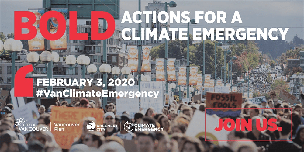 Bold Actions For a Climate Emergency